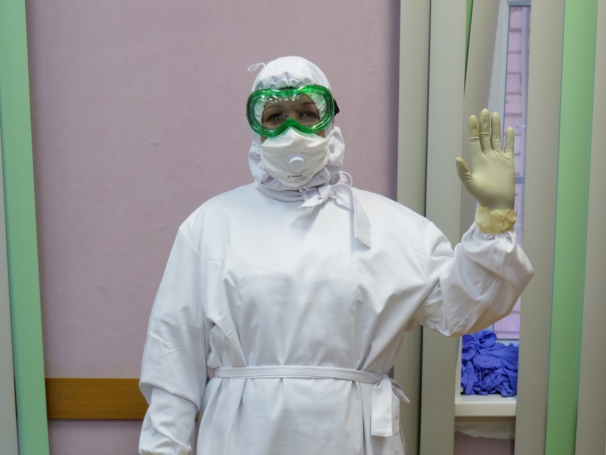 Замглавврача COVID-госпиталя рассказала, как больница превратилась в COVID-госпиталь за две недели - фото 1
