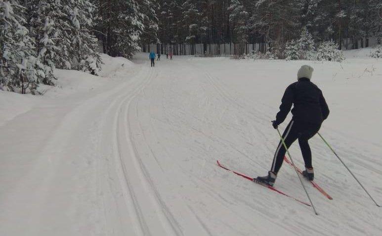 Новые лыжные трассы появились в Выксе - фото 1