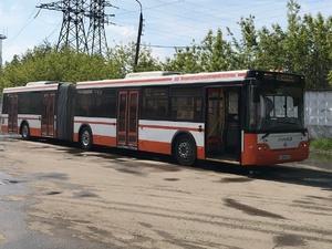Еще пять автобусов-гармошек вернутся на нижегородские маршруты после ремонта