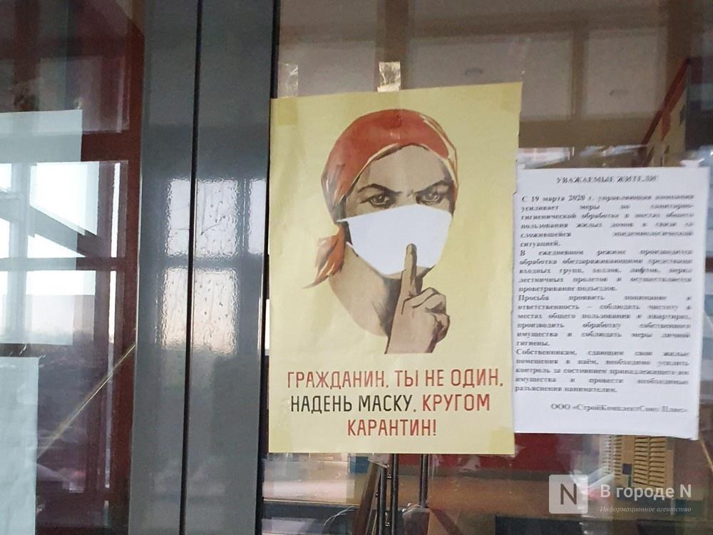 Новые случаи заболевания коронавирусом зафиксированы в 33 районах Нижегородской области - фото 1
