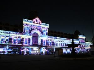 Историческое шоу на фасаде Нижегородской ярмарки покажут в режиме онлайн