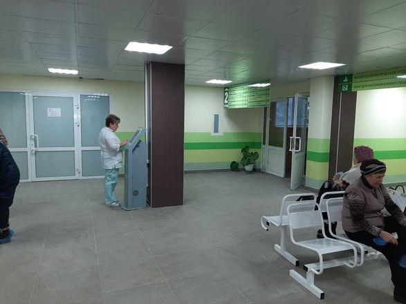 В нижегородской поликлинике больницы № 33 отремонтировали вход и зону приема пациентов - фото 2