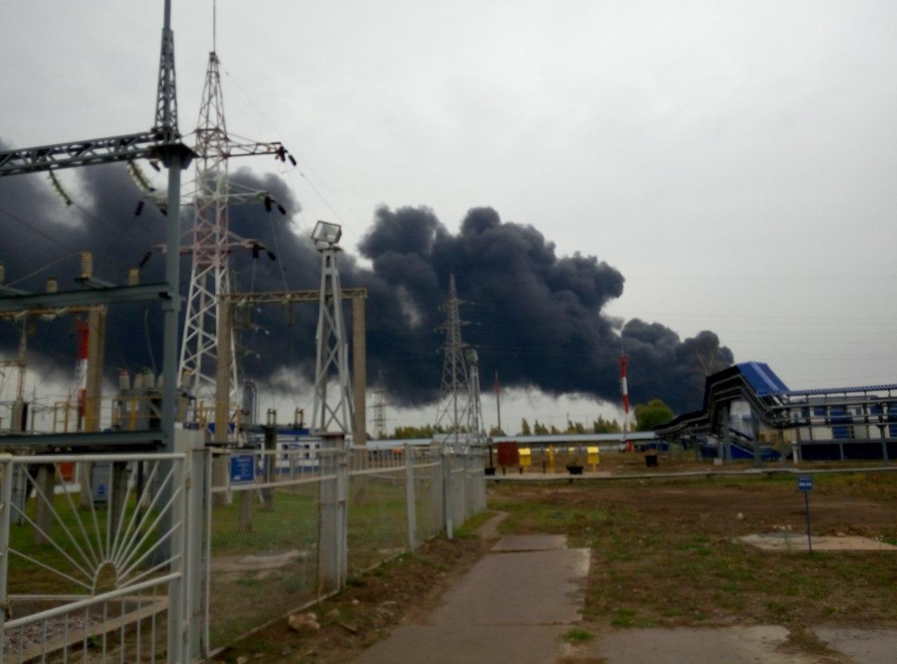 5  человек пропали после пожара нанижегородском НПЗ