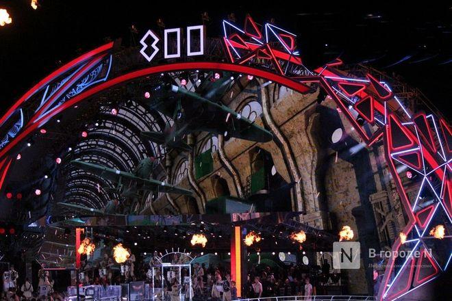 Огонь, вода и звезды эстрады: Как прошло гала-шоу 800-летия Нижнего Новгорода - фото 66