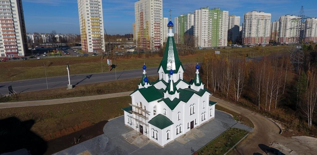 Храм в честь Матроны Московской освятят в Приокском районе - фото 1