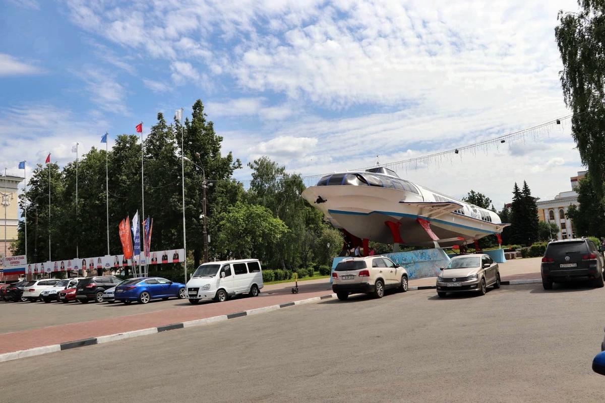 Сквер на площади Буревестника в Нижнем Новгороде благоустроят за 40 млн рублей - фото 1
