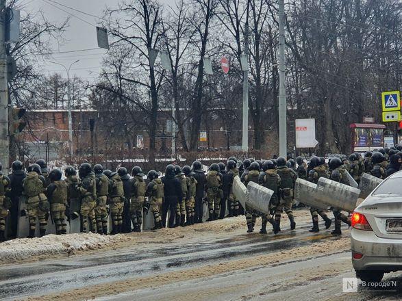 Протестующих вытеснили с площади Минина и Пожарского - фото 1
