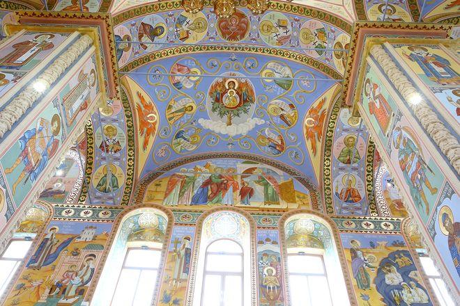 Уникальные росписи украсили храм князя Георгия Всеволодовича в Нижнем Новгороде - фото 3