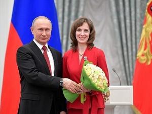 Путин наградил нижегородского ученого Марину Ширманову за достижения в лечении онкозаболеваний