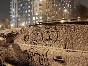 Плотный туман и снег пришли в Нижний Новгород 1 декабря