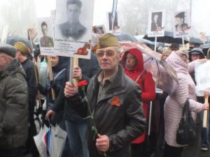 Двадцать тысяч нижегородцев прошли в колонне «Бессмертного полка» по улицам города (ФОТО)