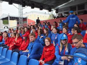 Фестиваль болельщиков открывается на площади Минина
