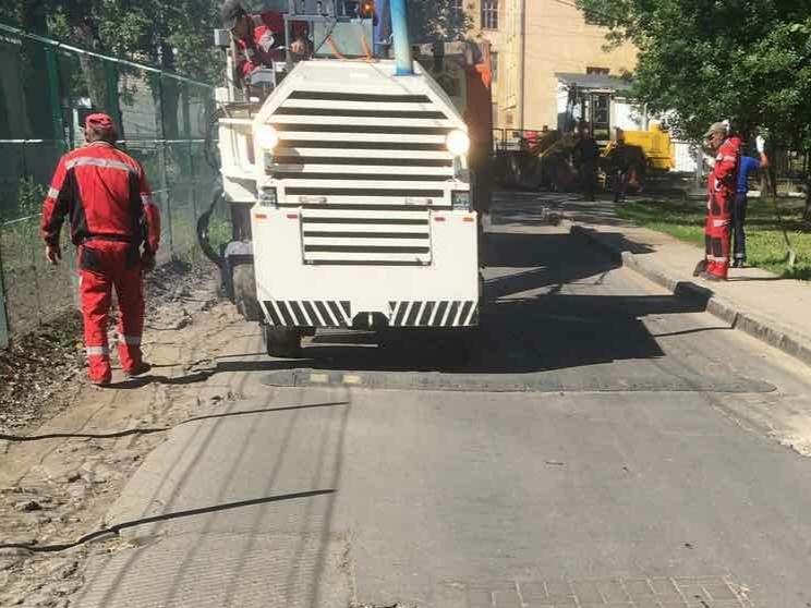 Дорогу к Новосормовскому кладбищу отремонтировали в Нижнем Новгороде - фото 1