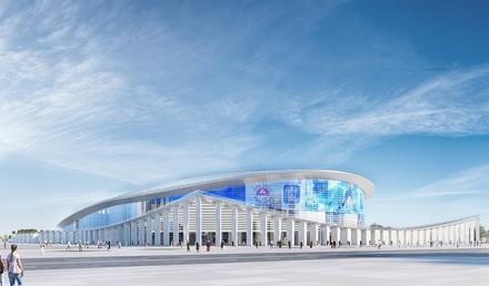 Ледовый дворец спорта на Стрелке намерены построить в ближайшие два года