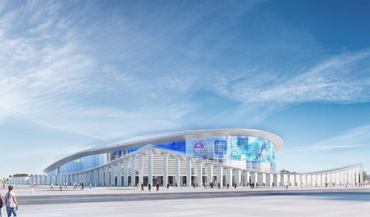Ледовый дворец спорта на Стрелке намерены построить в ближайшие два года - фото 1