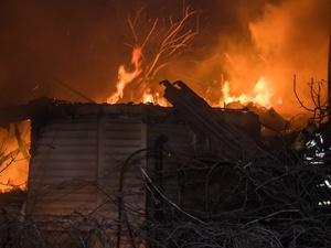 Житель Больших Бакалд погиб на пожаре в личном доме