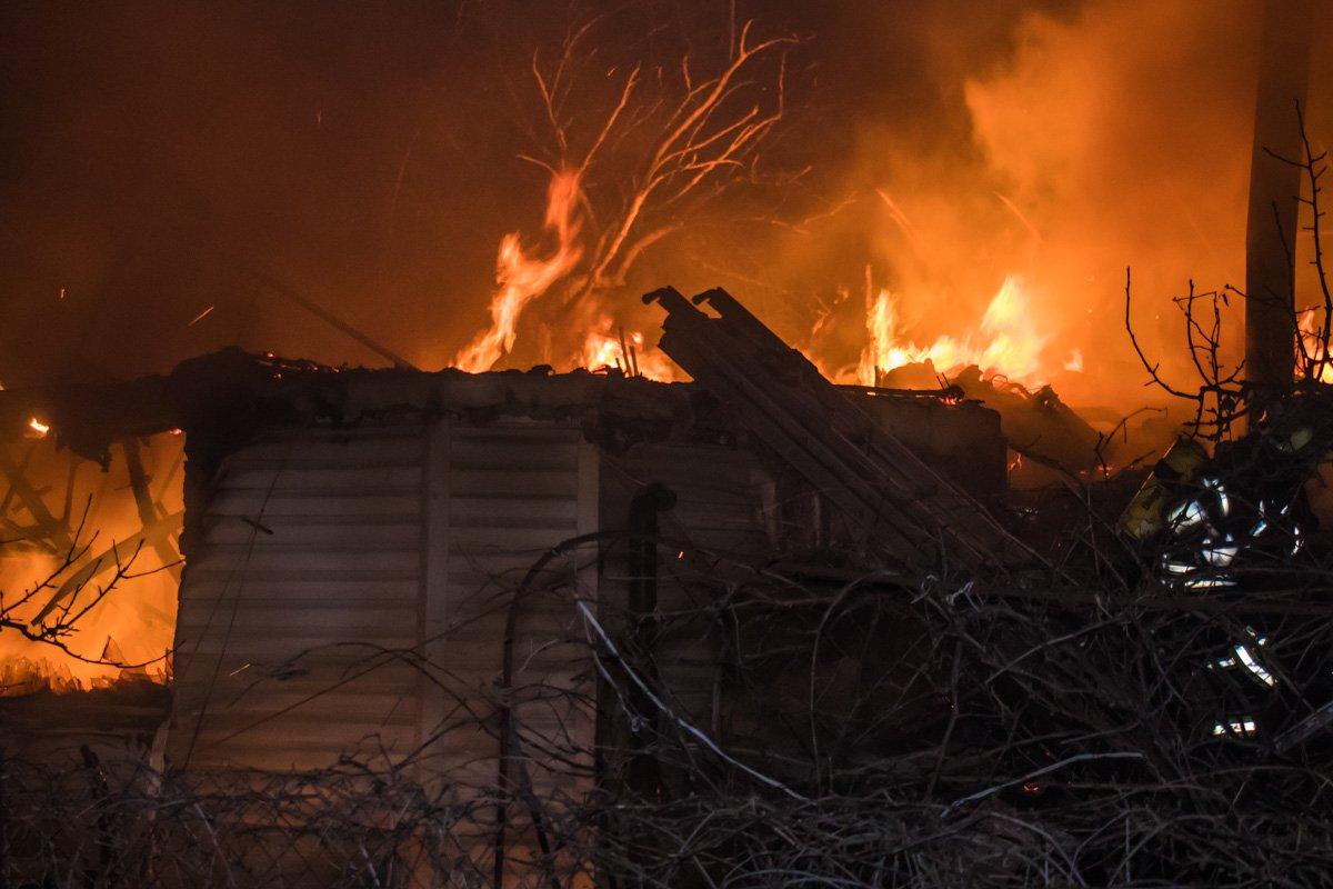 Пожилой вачкас погиб на пожаре в деревне Урюпино - фото 1