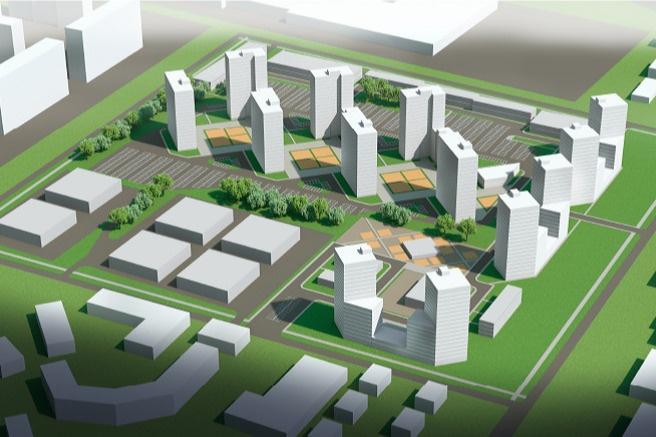 Новый ЖК планируется построить на месте заброшенного завода в Ленинском районе - фото 1