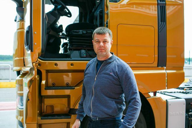 Немецкий лев в России: нижегородцам показали новые грузовики MAN - фото 7