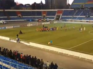 Болельщики напали на воронежских футболистов после поражения от ФК «Нижний Новгород»