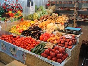 Цены на овощи и фрукты в Нижегородской области достигли минимума
