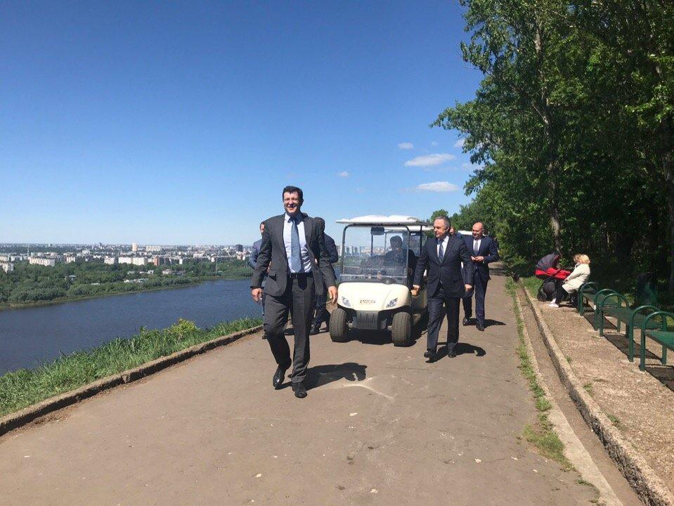 Виталий Мутко поддержал преображение парка «Швейцария» - фото 1