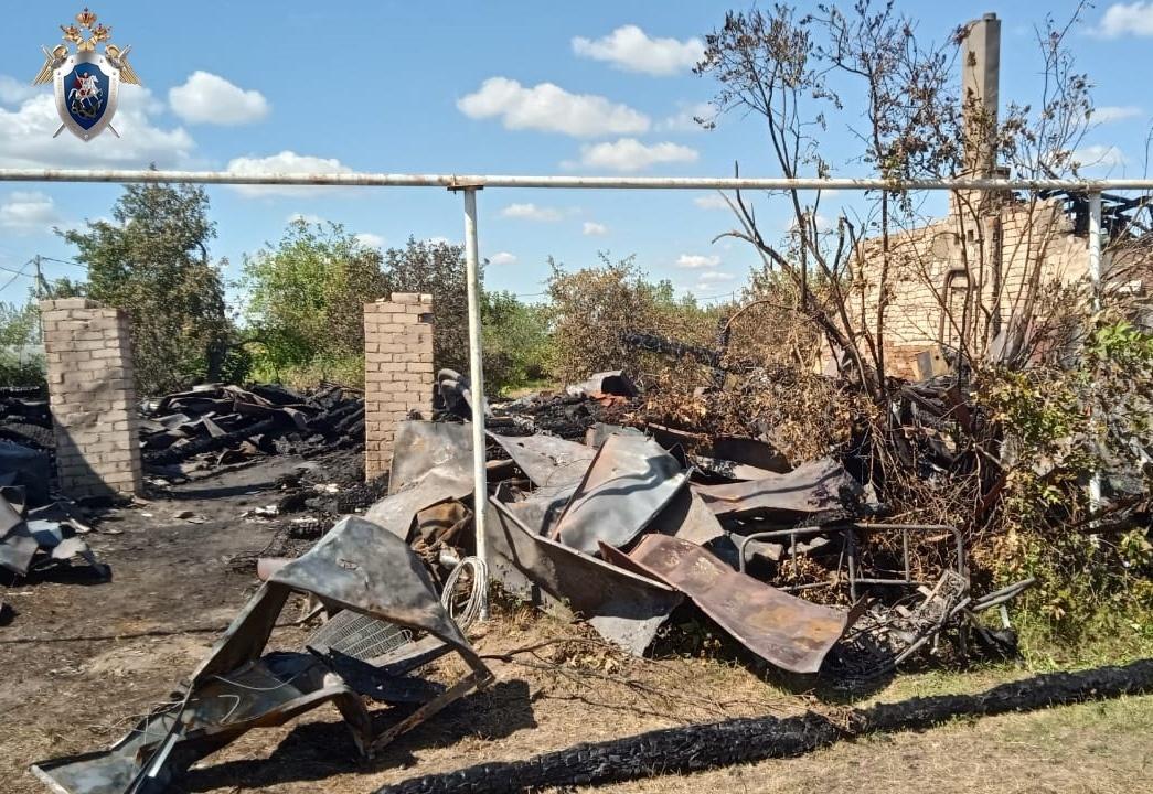 Пенсионерка погибла на пожаре в Навашинском районе - фото 2