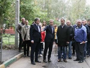 Владимир Панов оценил благоустройство дворов Нижегородского района