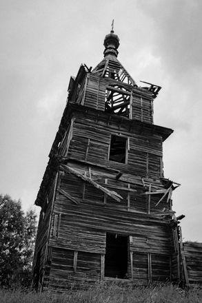Как умирает нижегородское зодчество: история последней деревянной церкви в Лысковском районе - фото 2