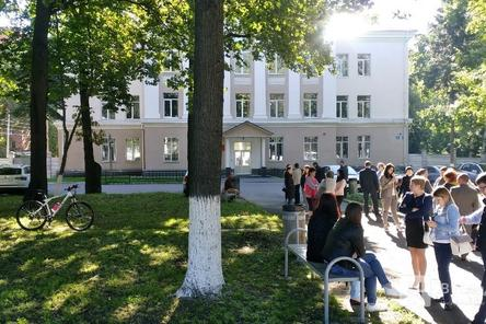 Приокский районный суд Нижнего Новгорода эвакуирован