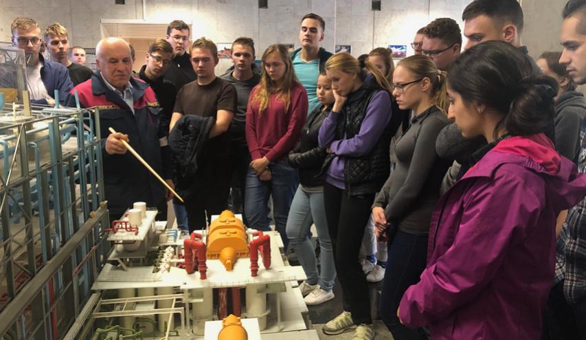 Студенты опорного вуза отправились в технический тур по АЭС - фото 1