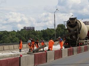 Ремонт Мызинского моста планируют завершить к началу сентября (ФОТО)