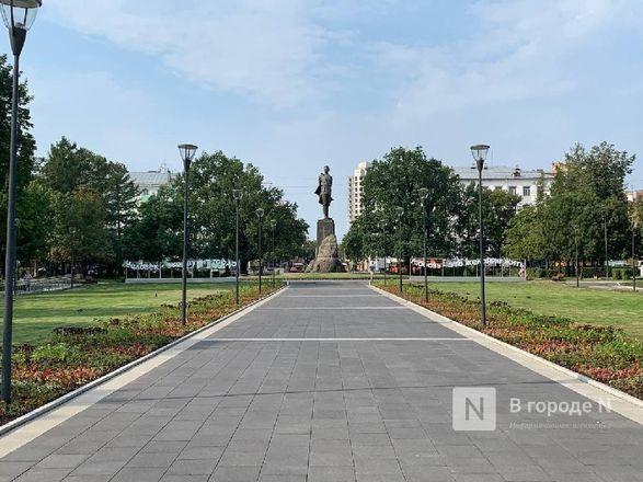 Сквер на площади Горького открыли для нижегородцев - фото 6