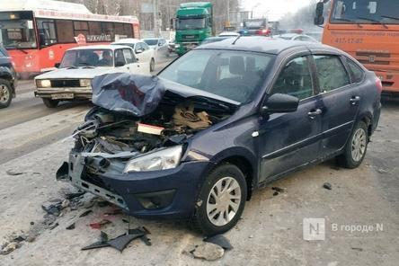 ДТП с погибшими на проспекте Гагарина в Нижнем Новгороде