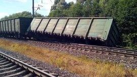 Шесть грузовых вагонов сошли с рельсов в Бутурлинском районе