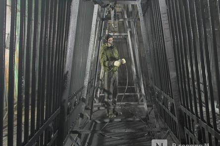 Почти половина исторической ограды нижегородского парка «Швейцария» отреставрирована