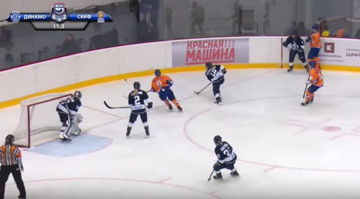 В первом матче с «Динамо» СКИФ уступил со счетом 6:2 - фото 1