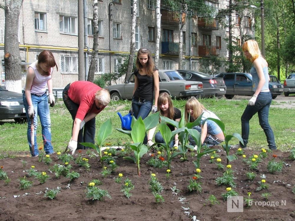 Нижегородцам предлагают выйти на субботник для благоустройства дворов на 16 млн рублей - фото 1