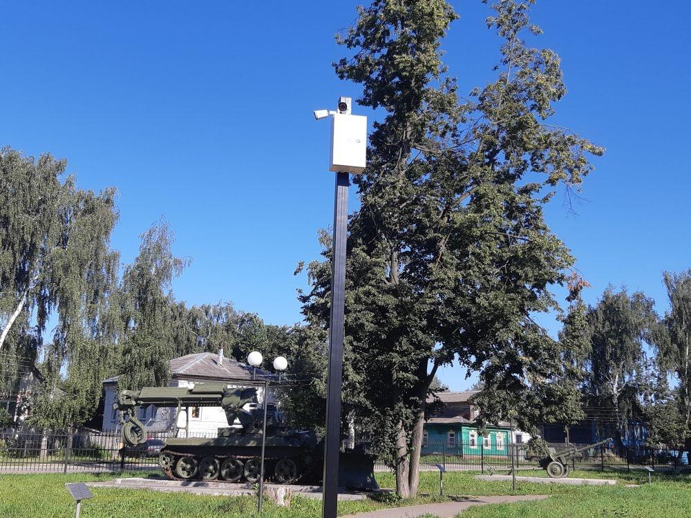 Новая военная техника появится в лысковском парке Победы