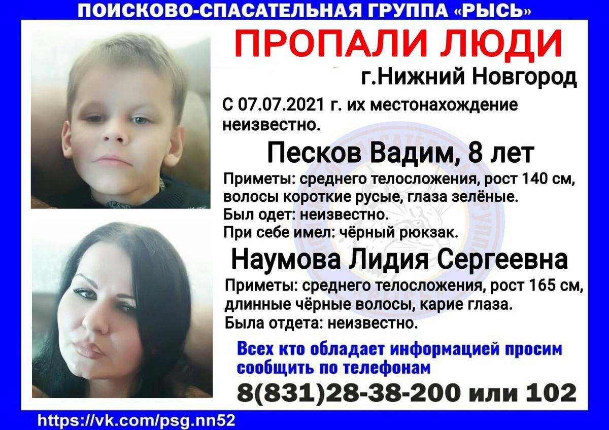 Женщина и восьмилетний ребенок пропали в Нижнем Новгороде - фото 1