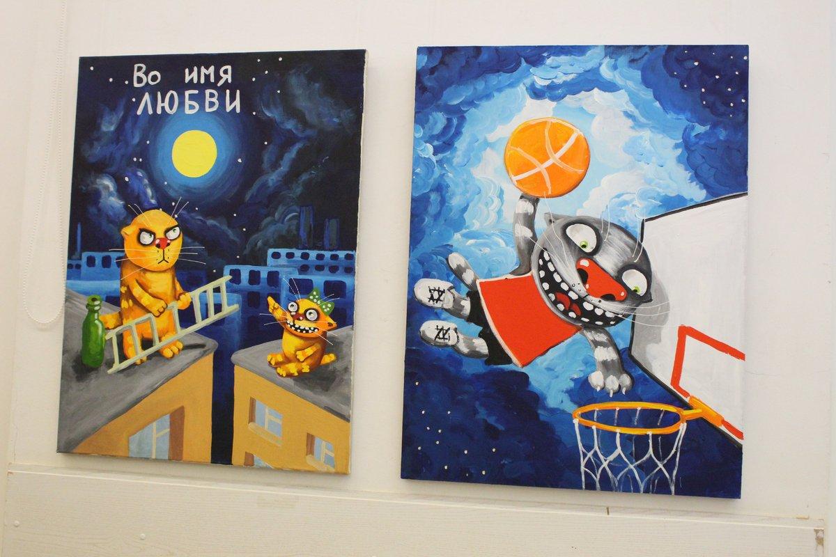 Коты Васи Ложкина приехали в Нижний Новгород - фото 5