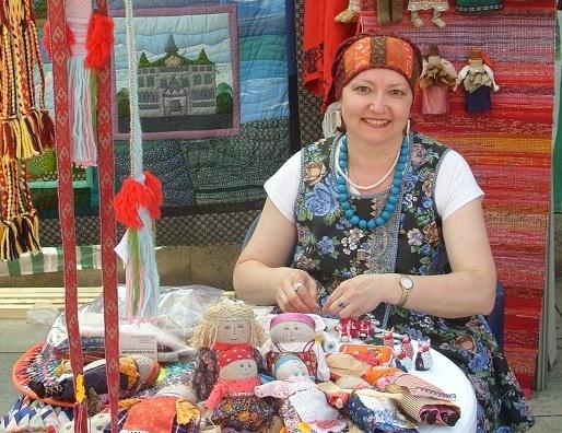 Полмиллиона рублей получила нижегородская мастерица Ольга Бочарова от правительства РФ - фото 1