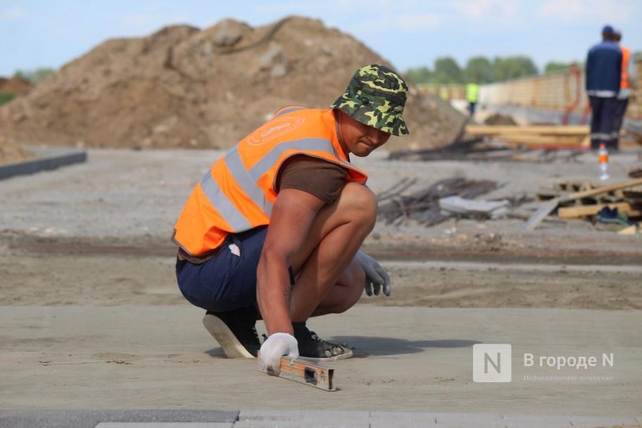 Окскую набережную в Нижнем Новгороде благоустроят до 15 июля - фото 2