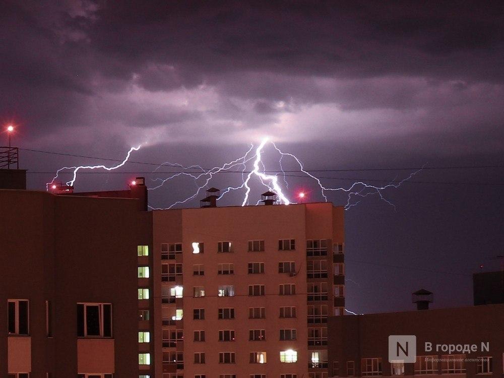 Грозы и дожди ожидают нижегородцев на этой неделе - фото 1