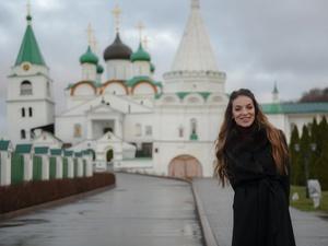 Глава Ростуризма впервые посетила Нижний Новгород и попробовала пирожки в мужском монастыре