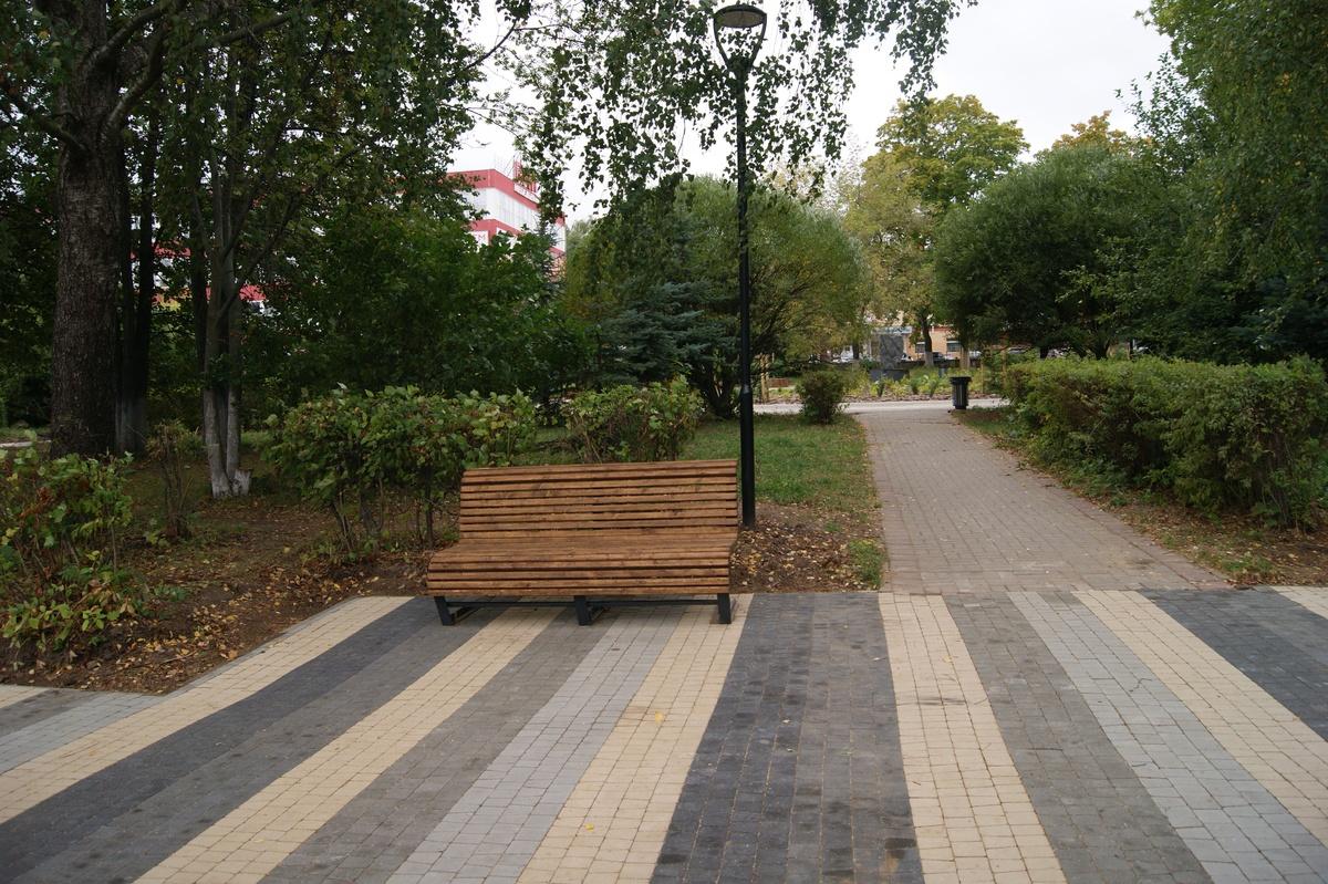 Парковые диваны установят на улицах Советского района - фото 1