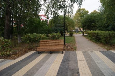 Парковые диваны установят на улицах Советского района