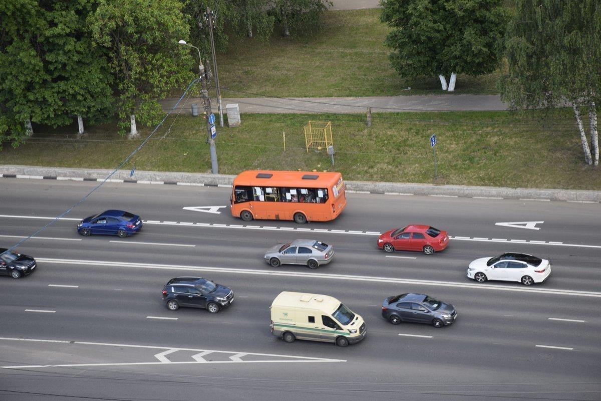 Выделенная полоса на проспекте Гагарина продолжит работать - фото 1