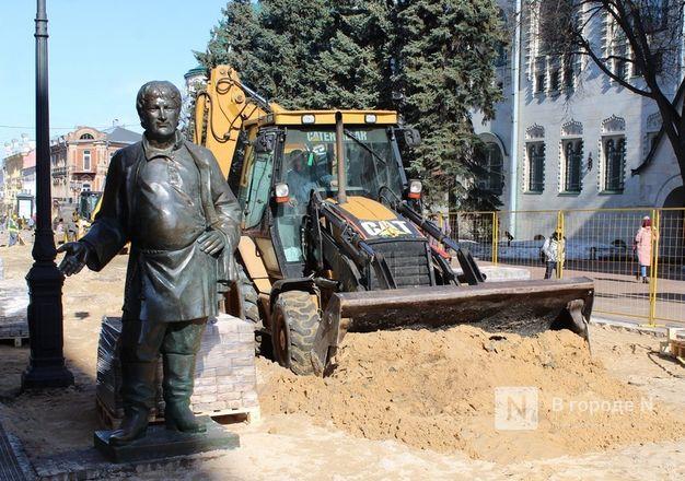Скульптуры с Большой Покровской уберут на время работ по благоустройству - фото 1