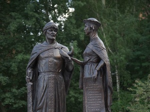 В Нижнем Новгороде освятили памятник Петру и Февронии (ФОТО)